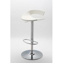 Tabouret de bar design SWING blanc par Gaber