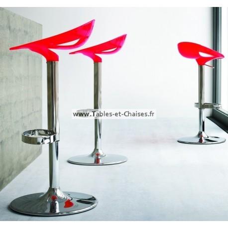 Tabouret bar design MOEMA réglable