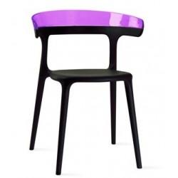 Chaise plastique LUNA