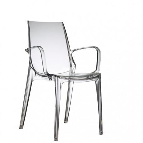 Chaise design VANITY accoudoirs