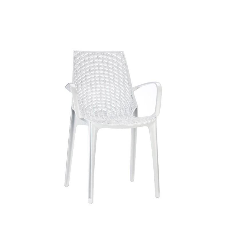 Chaise design transparente tricot par scab for Table et chaise transparente