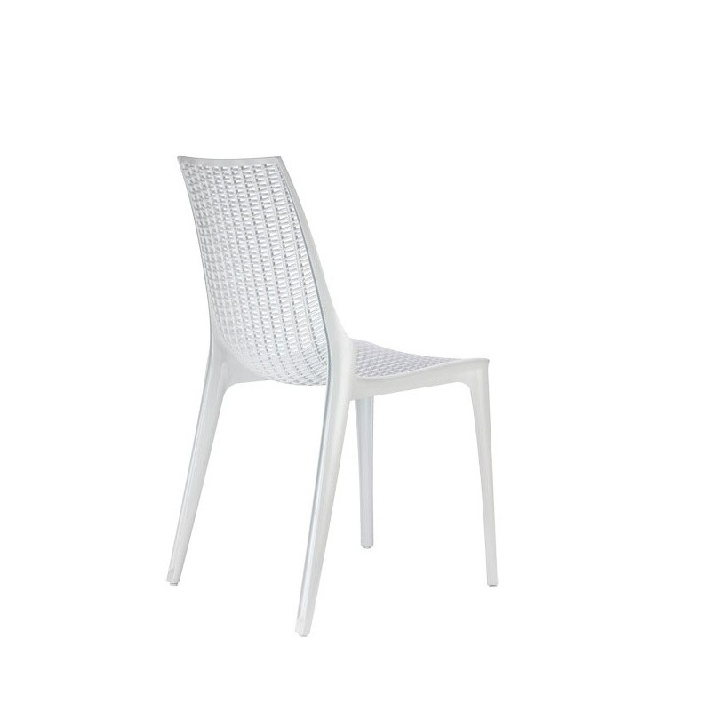 Chaise design en polycarbonate transparent par scab - Chaise polycarbonate italie ...