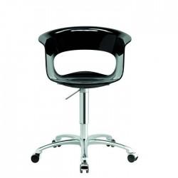 Chaise design de bureau roulante MISS B