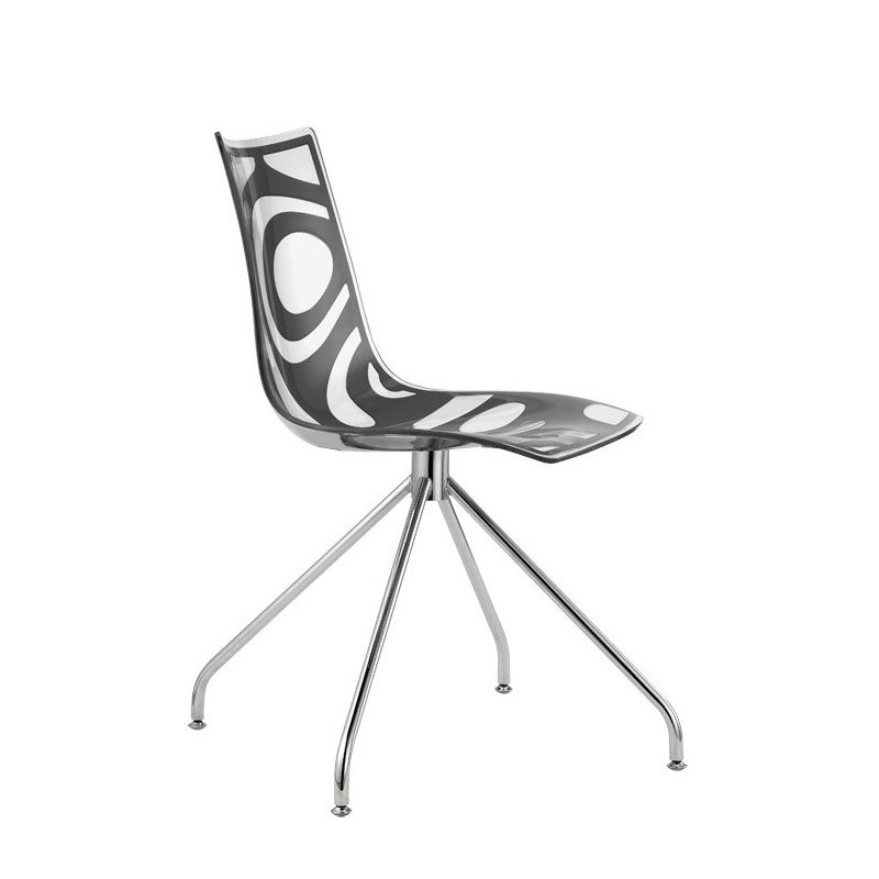Chaise salle a manger design wave par xcab for Salle a manger wave