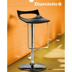 Tabouret design pour bar DIAVOLETTO U