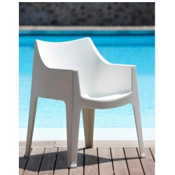 Chaise de terrasse design COCCOLONA.
