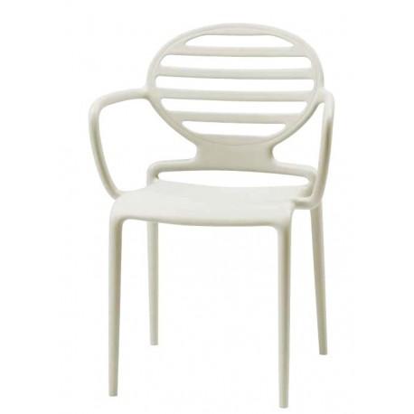 Chaise design accoudoirs COKKA