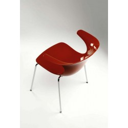 Chaise design PURE LOOP 4 LEGS