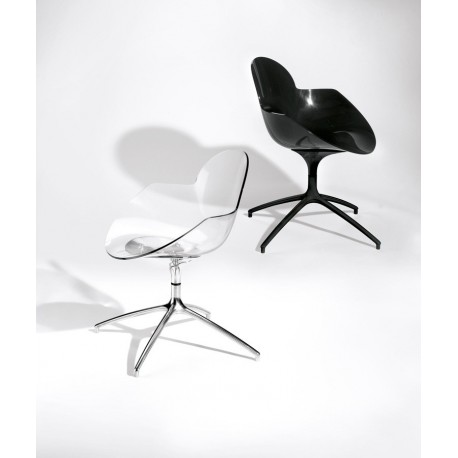 Chaise design COOKIE SWIVEL