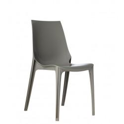 Chaise design VANITY Sable taupe par Scab.