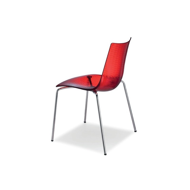 Chaise design en plastique dea par scab - Chaise plastique design ...