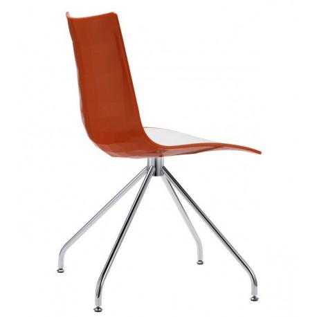 Chaise design bicolore ZEBRA