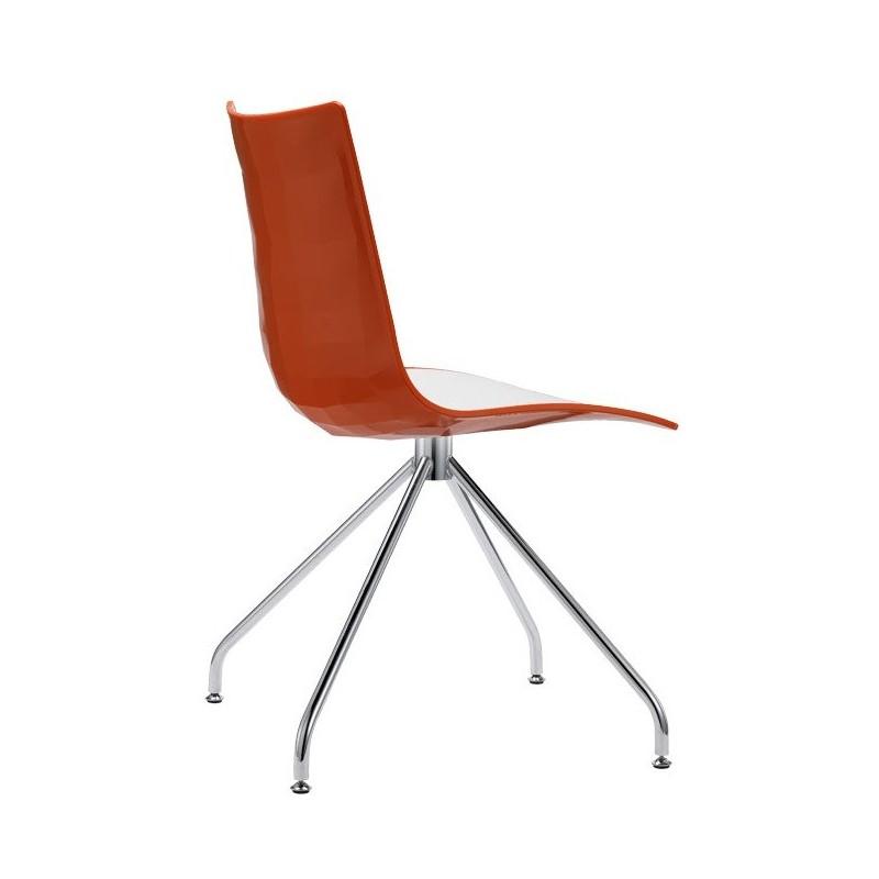 chaise design en plastique zebra par scab. Black Bedroom Furniture Sets. Home Design Ideas