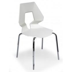 Chaise design blanche PRODIGE