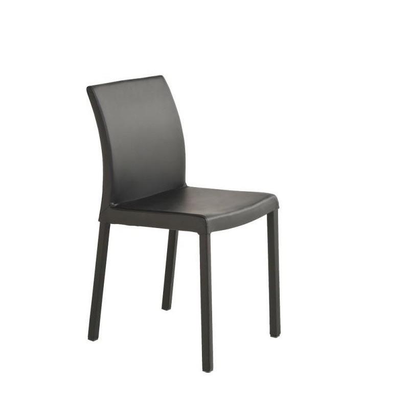 chaise en cuir prince et chaises cuir par perfecta marron. Black Bedroom Furniture Sets. Home Design Ideas