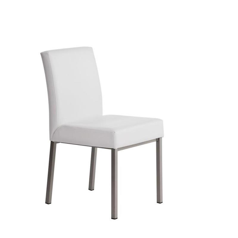 chaise de cuisine moderne moby en vinyle par perfecta. Black Bedroom Furniture Sets. Home Design Ideas
