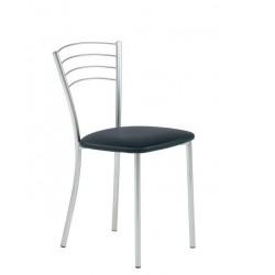 Chaise design cuir ROMA