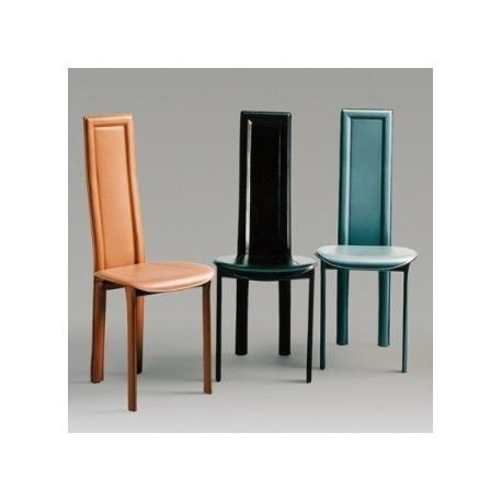 Chaise cuir LINDA