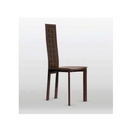 Chaise design cuir LOLA