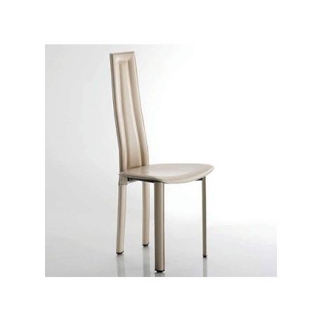 Chaise moderne cuir VEGAS