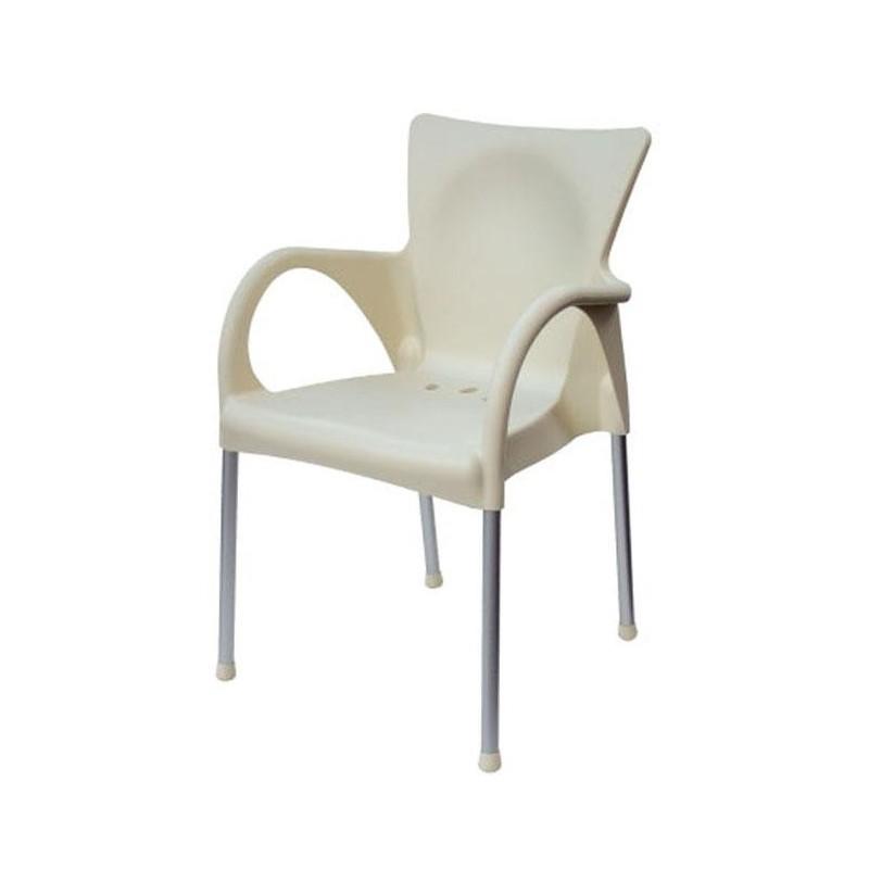 Chaise en r sine de jardin beverly et chaise en for Chaises longues en resine