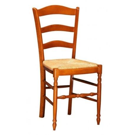 Chaise en bois et chaises de cuisine en bois chaises - Chaise cuisine bois paille ...