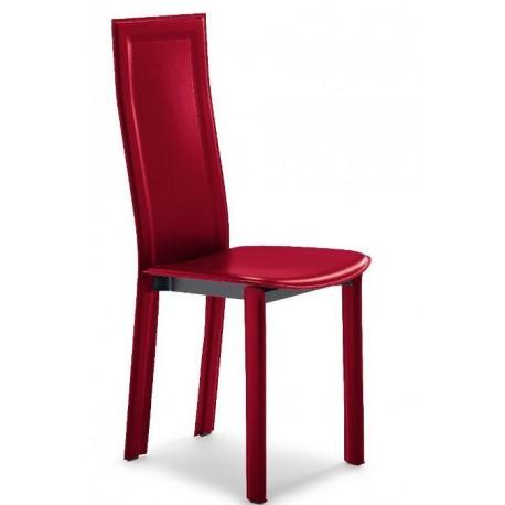 Chaise contemporaine CL105 rouge par AIRNOVA